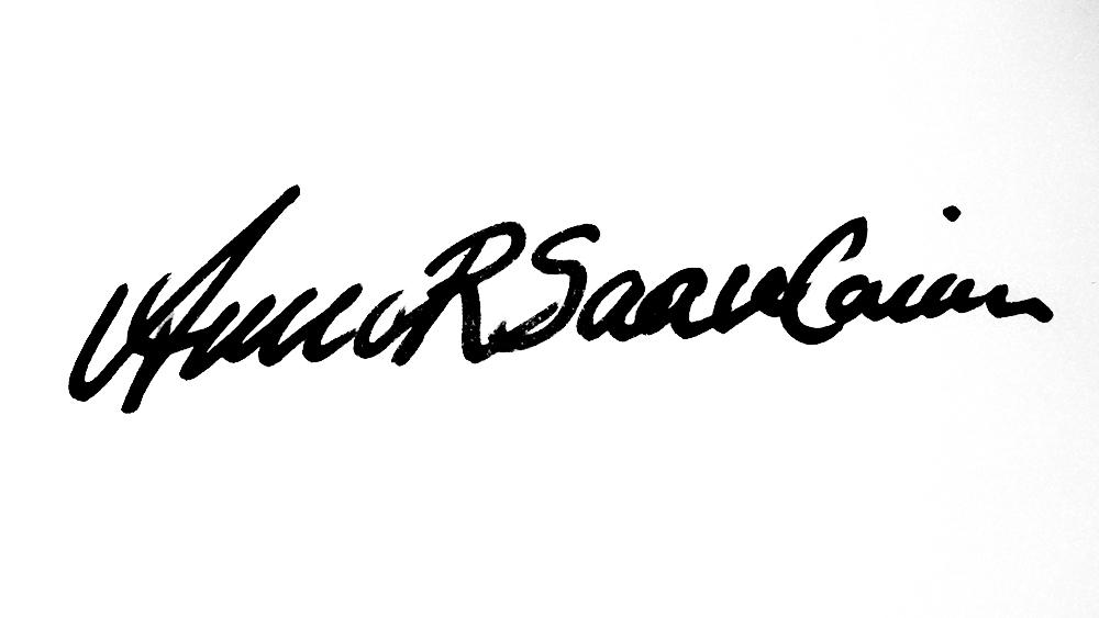 Annariitta Saarelainen Signature