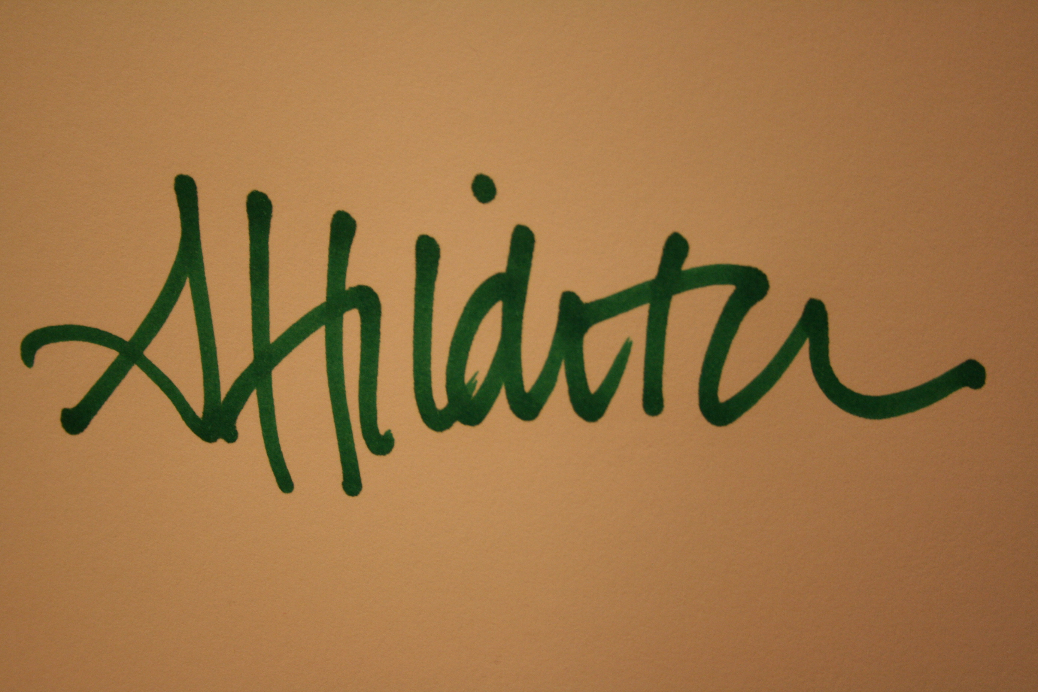 Andrea Hilditch Signature