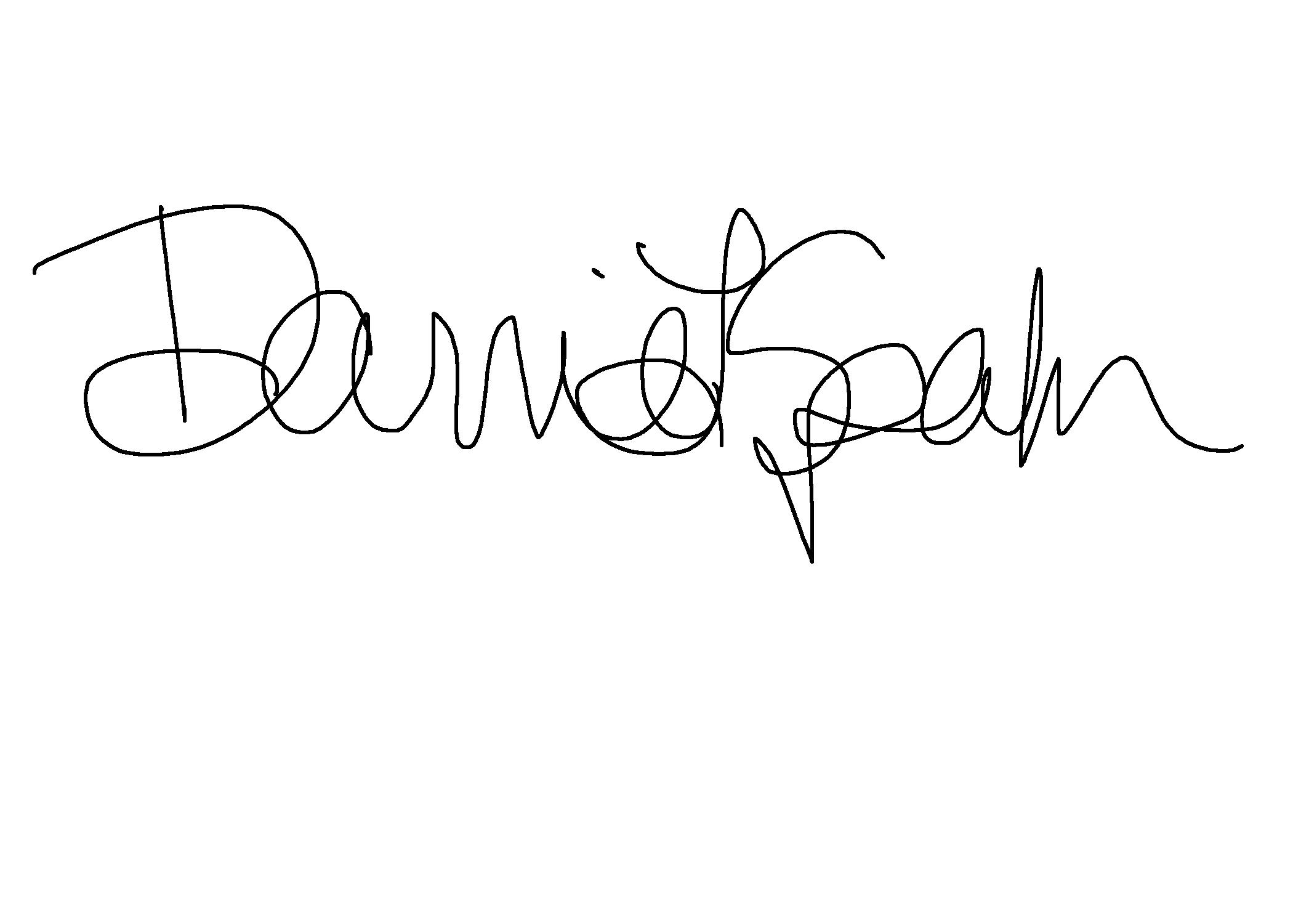 Darrie Spahr Signature