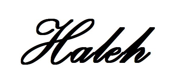 Haleh Walton Signature