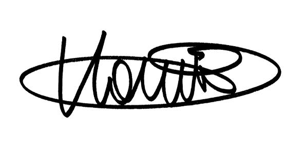 Klara Hamori Signature