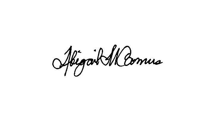 A M Camus Signature