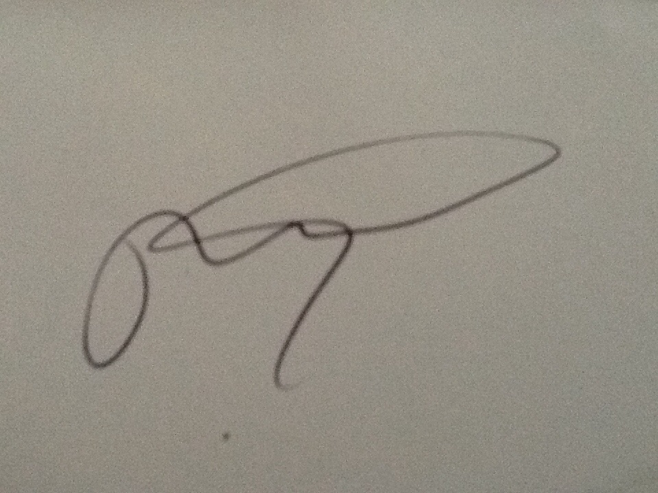 Martine Jacques Rodney Signature