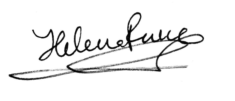 Helena Perez Garcia Signature