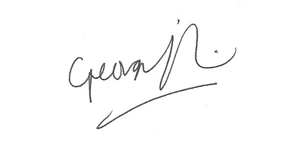 Georgia Foreman Signature