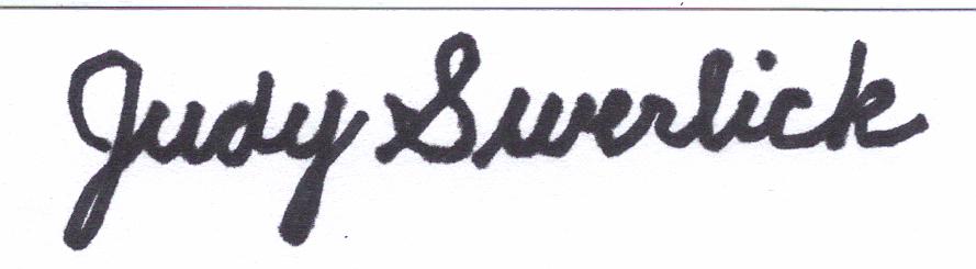 Judy Swerlick Signature