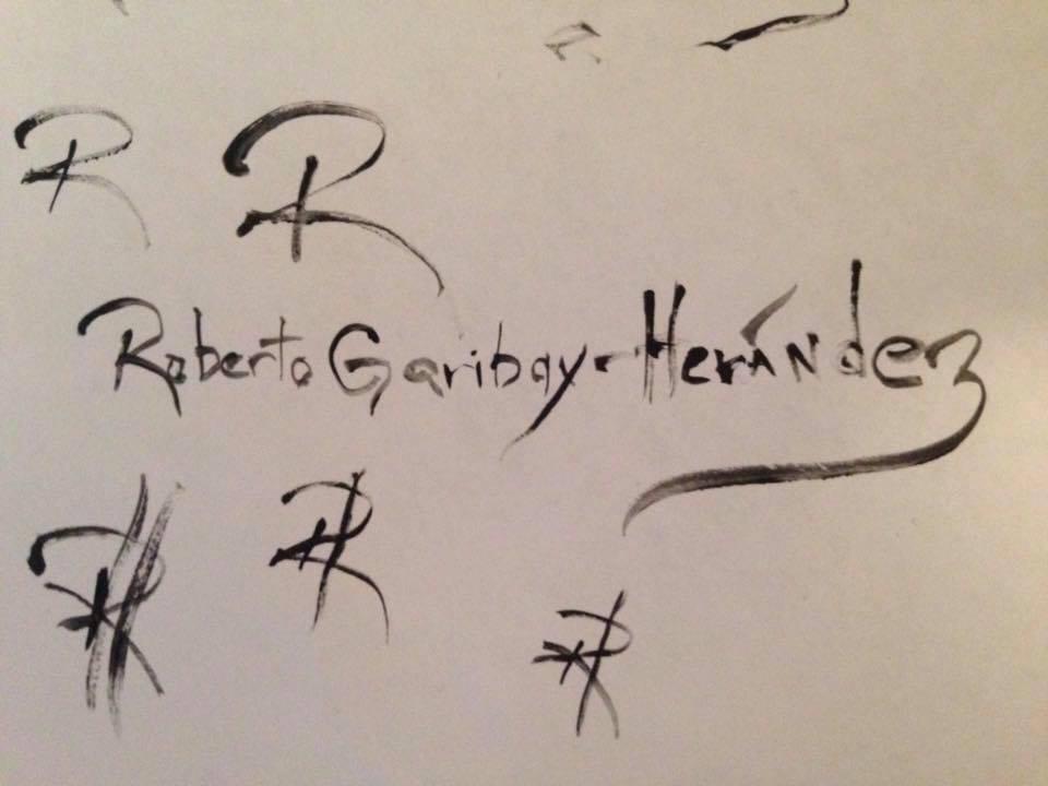 Roberto Garibay-Hernandez Signature
