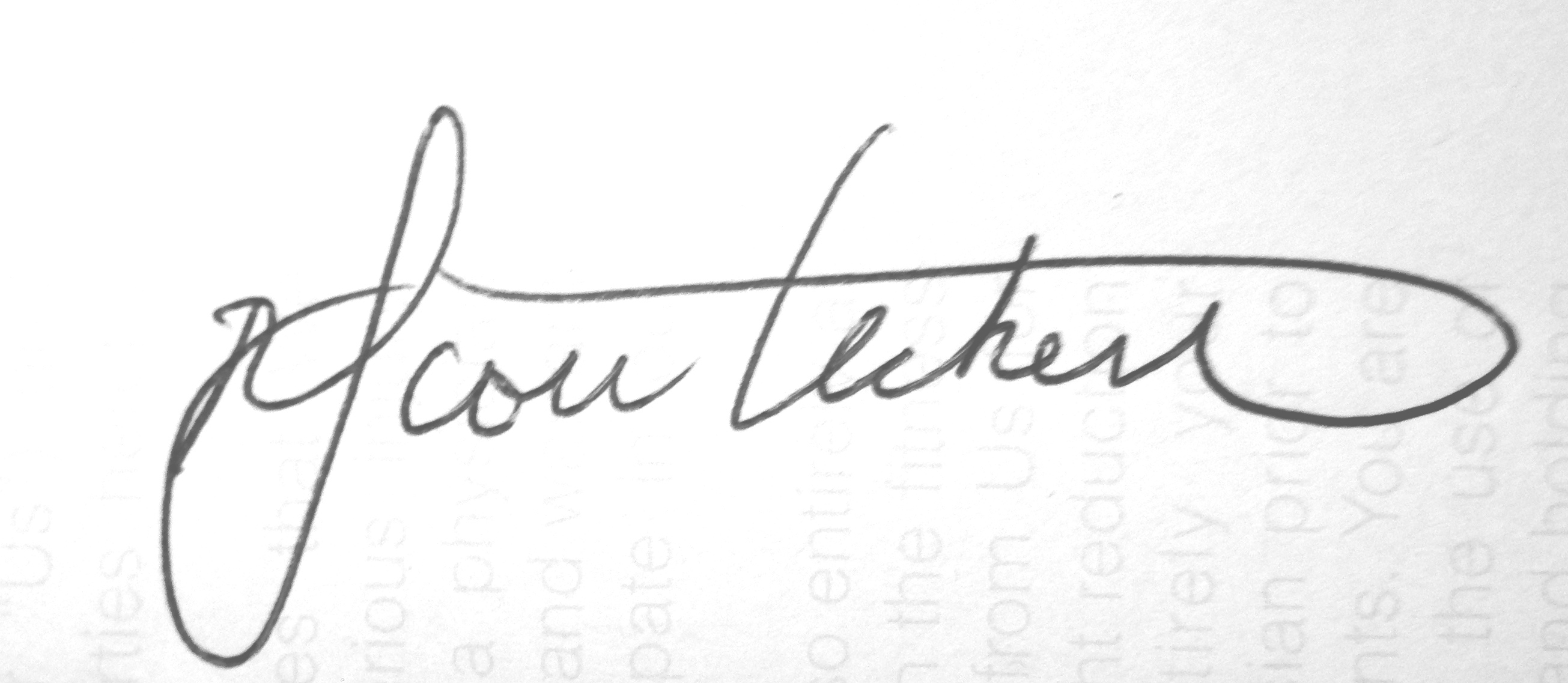 Scott Heckert Signature