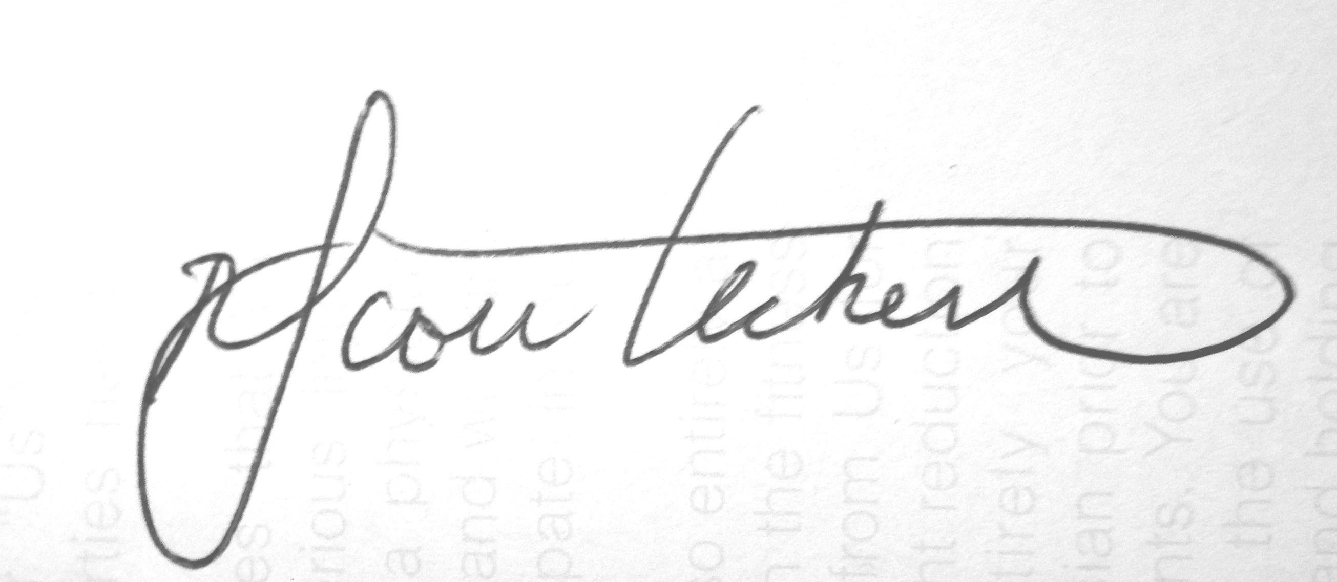 Scott Heckert Signature