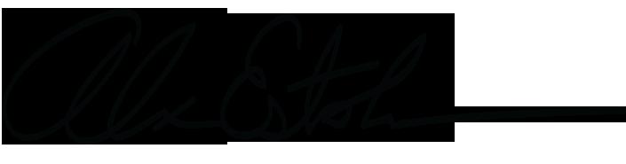 Alexandro Estolano Signature
