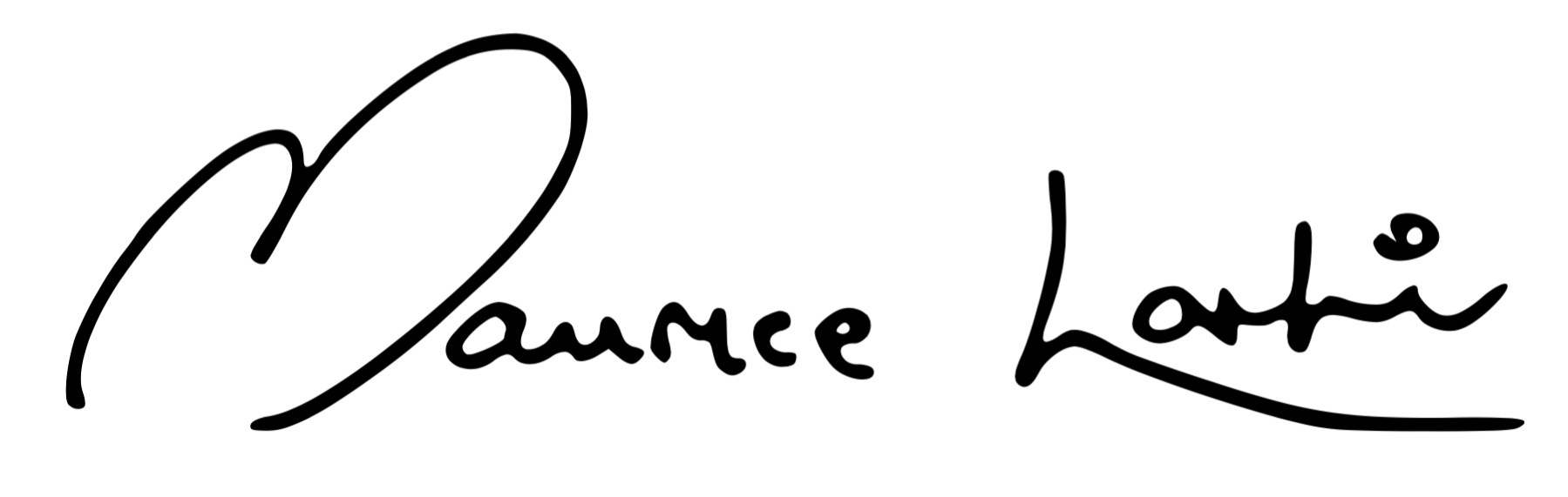 Maurice Larkin Signature