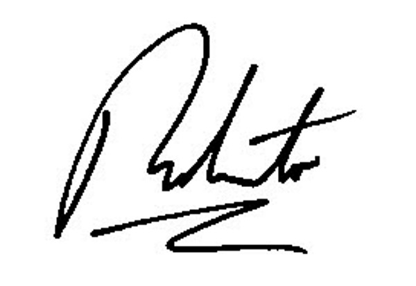 Robert Selwa Signature