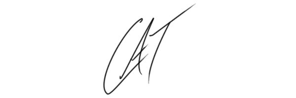 Catherine MacAdam Signature