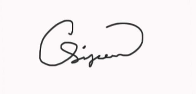 Calvin Simpson Signature