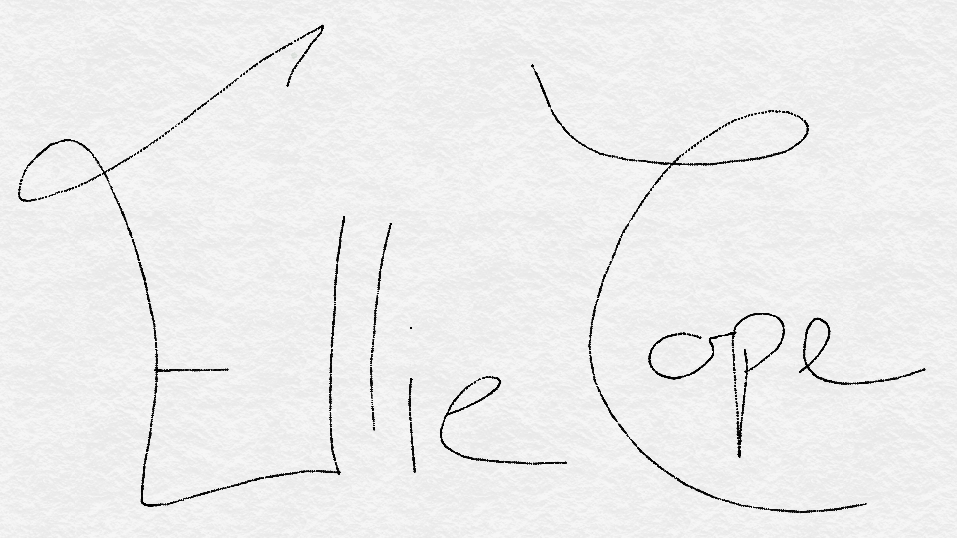 Ellie Cope Signature