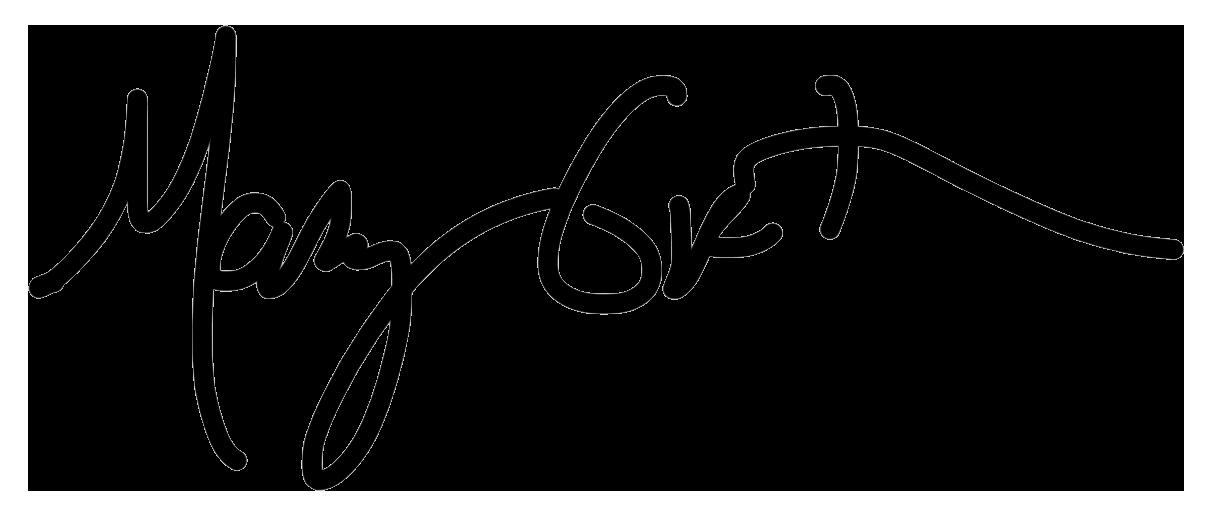mary groth Signature
