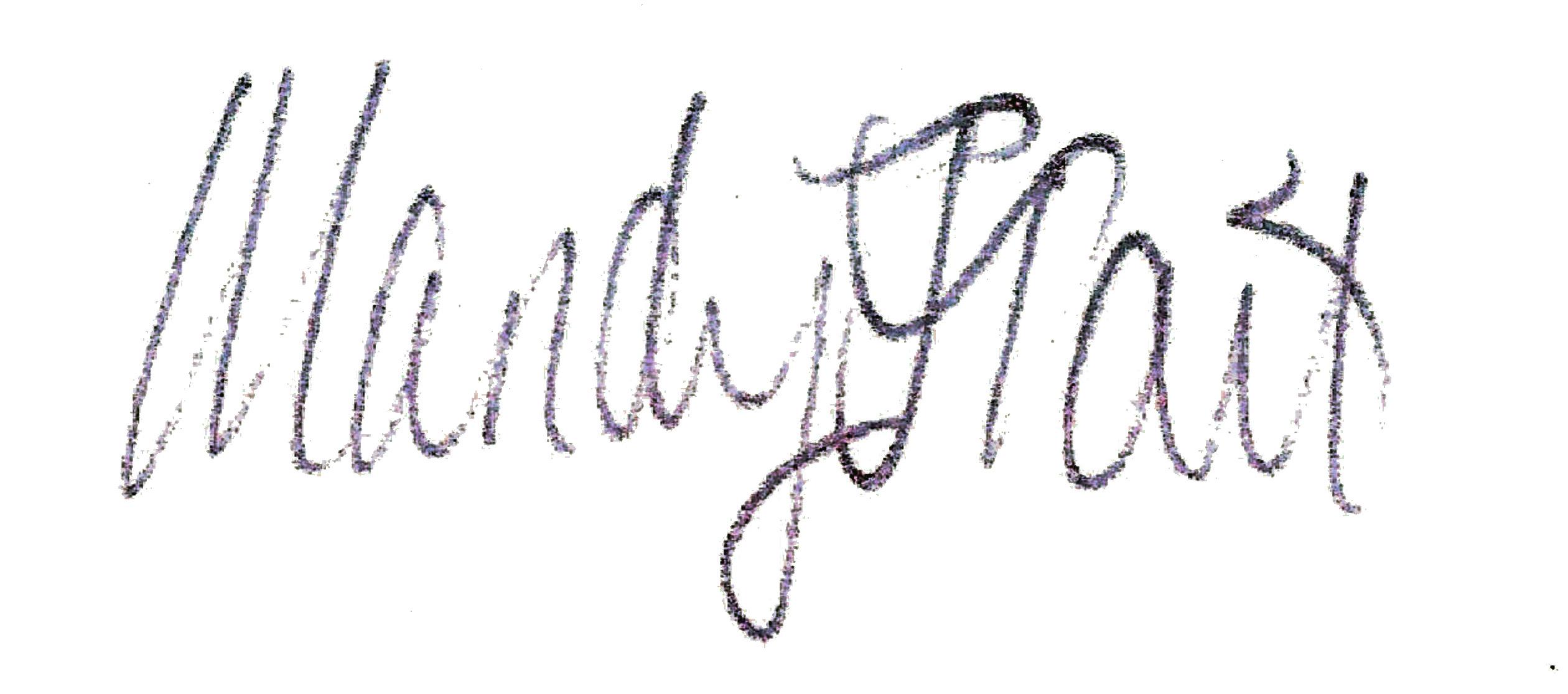 Mandy Tait Signature