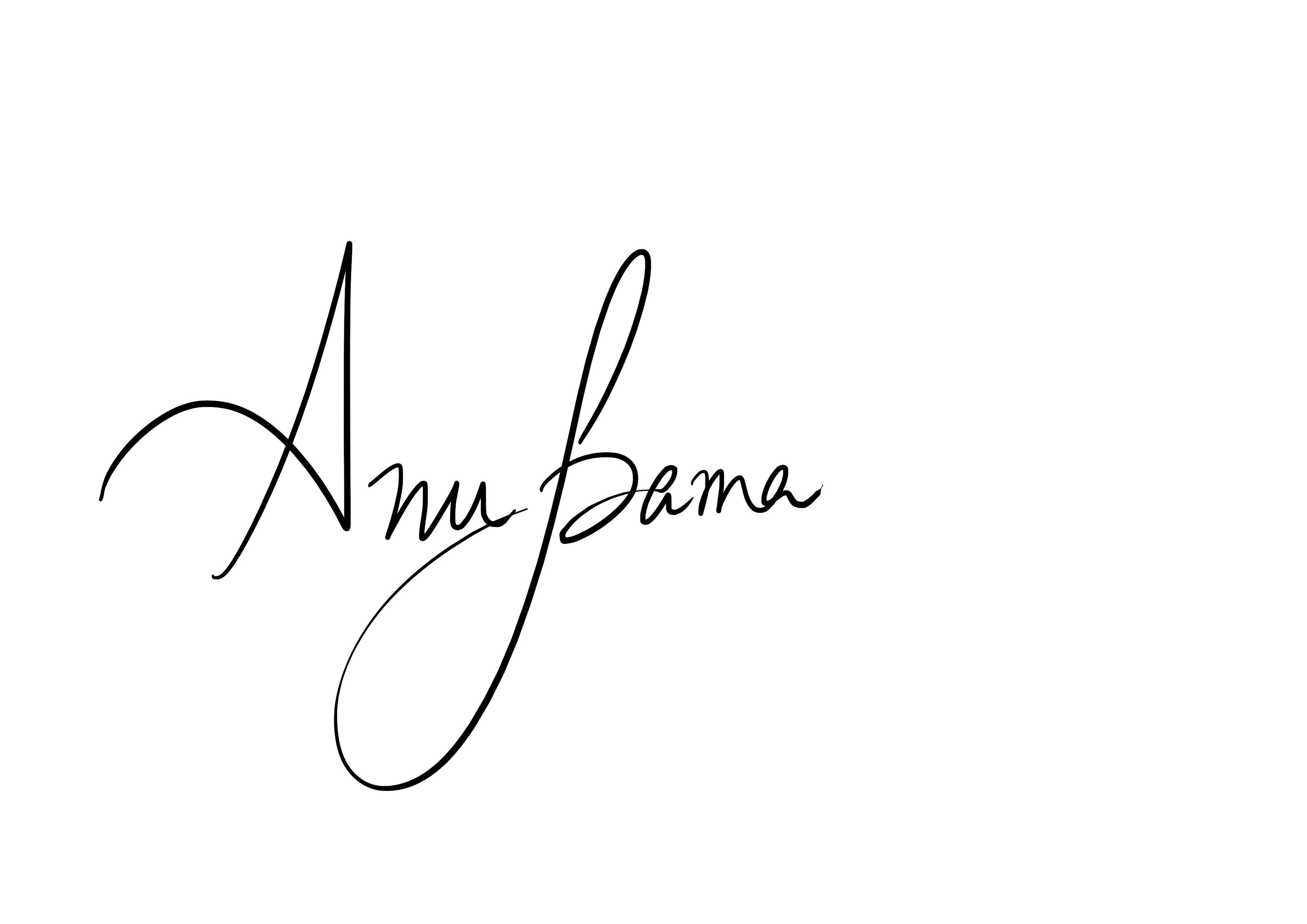 Anupama Hiregoudar Signature