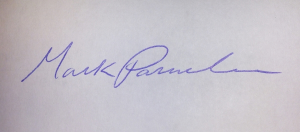 mark Parmelee Signature