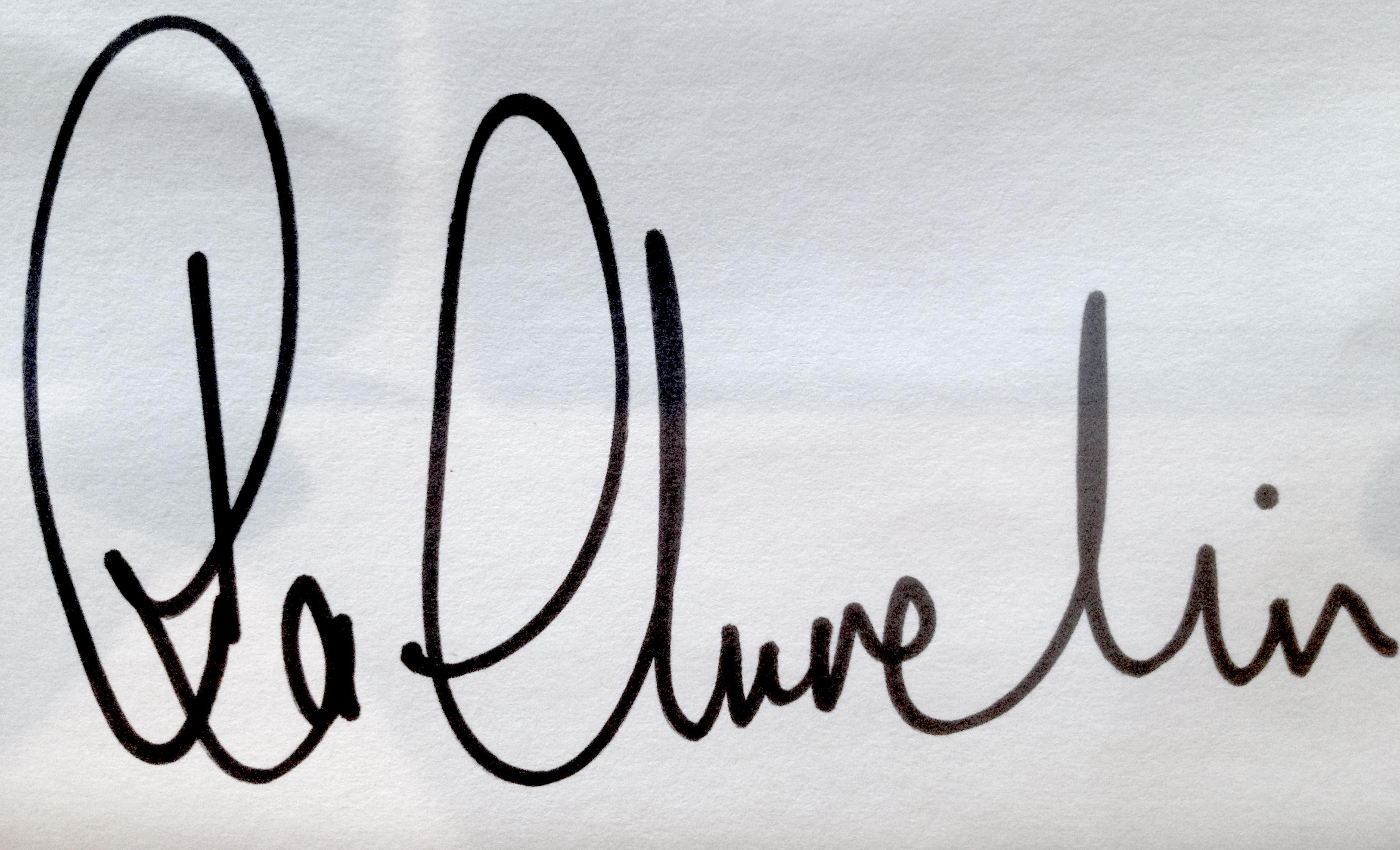 Ra Churchin Signature