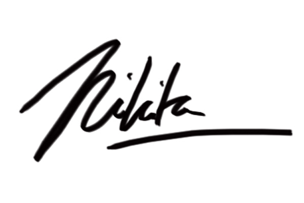 Nikita Mathur Signature
