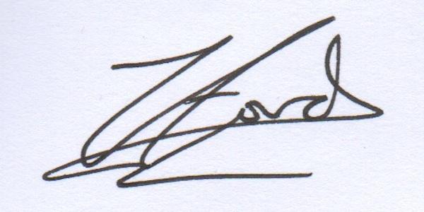 Zoe Ford Signature