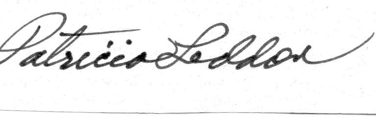 Patricia Leddon Signature