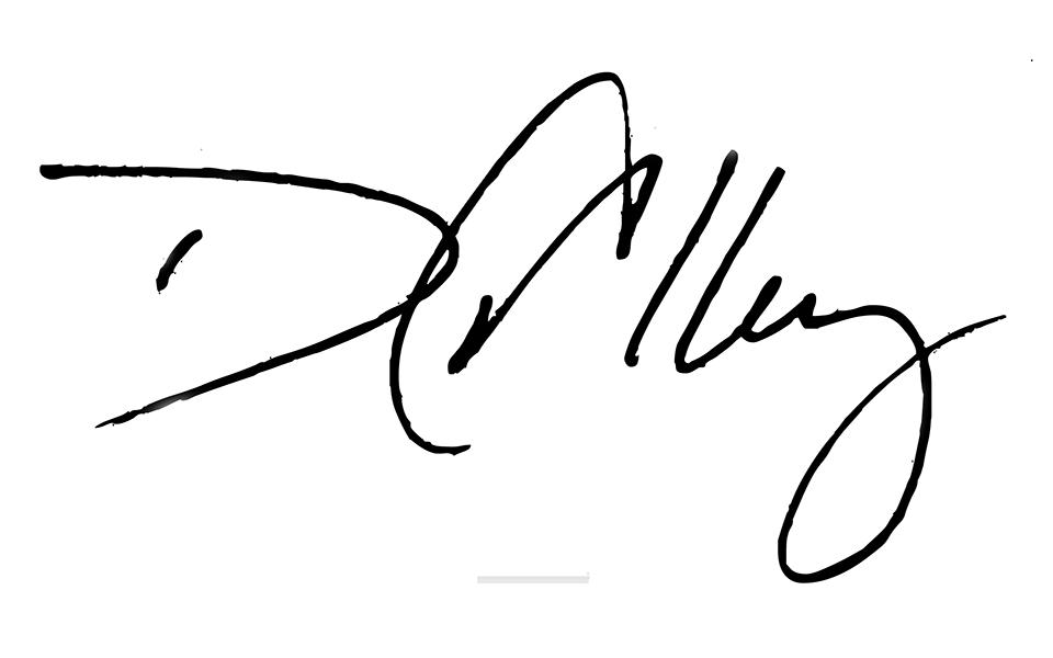 David Alley Signature