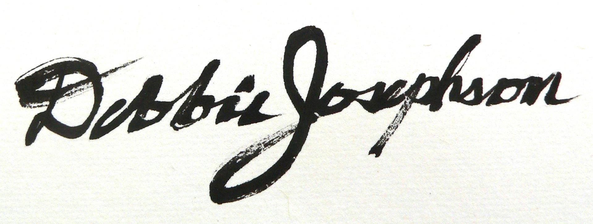 Debbie Josephson Signature