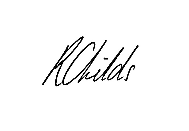 Rosie Childs Signature
