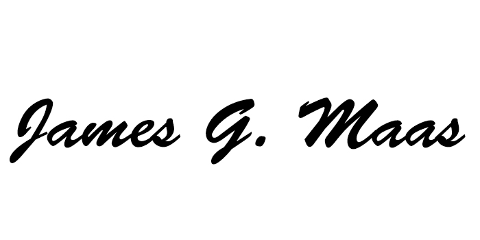 James Maas Signature