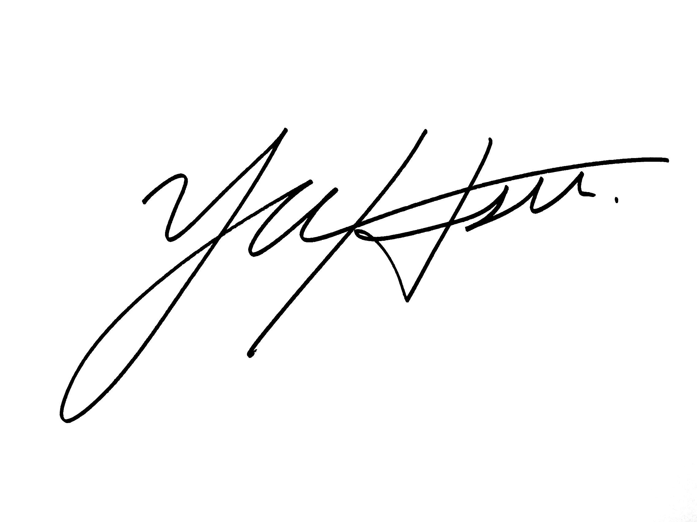 Hyun-su (Anna) Yu Signature
