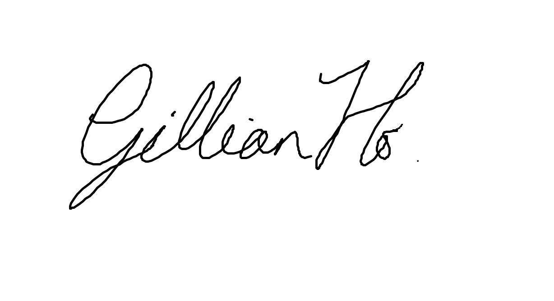 Gillian Ho Signature