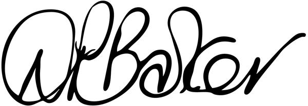 Diane Barker Signature