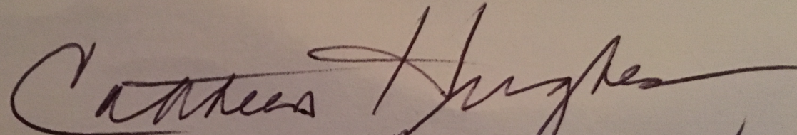 Cathleen Hughes Signature