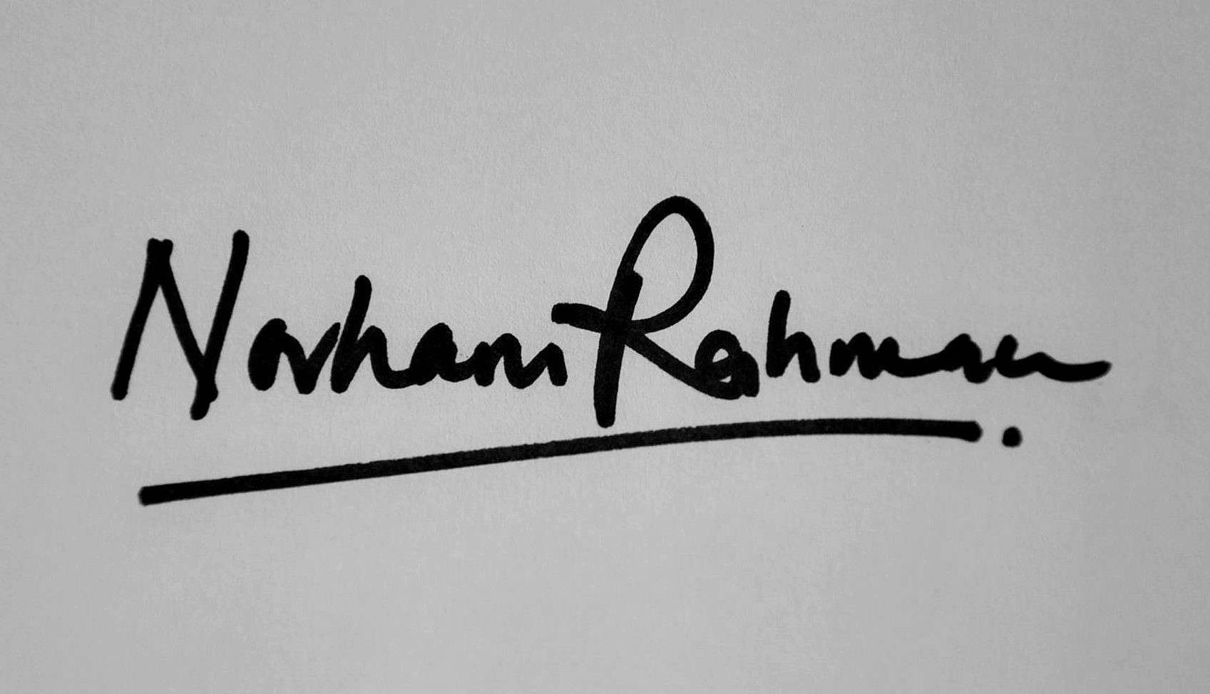 Norhani Abdul Rahman Signature