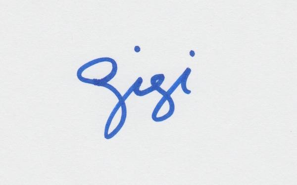 gina gina Signature
