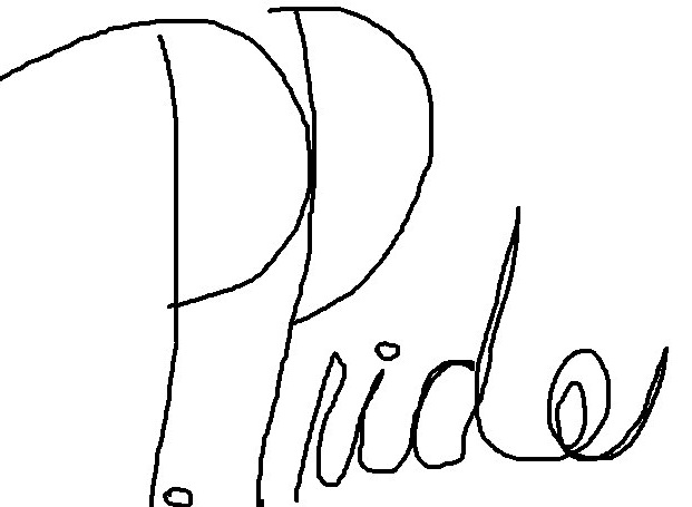 Priscilla Pride Signature