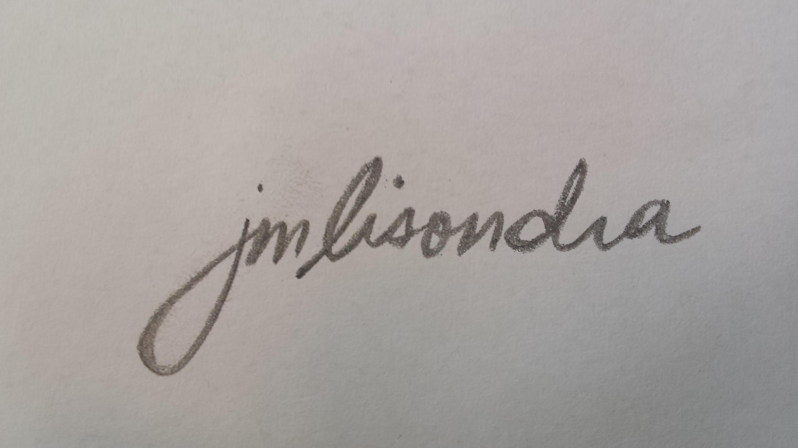 John Magne Lisondra Signature