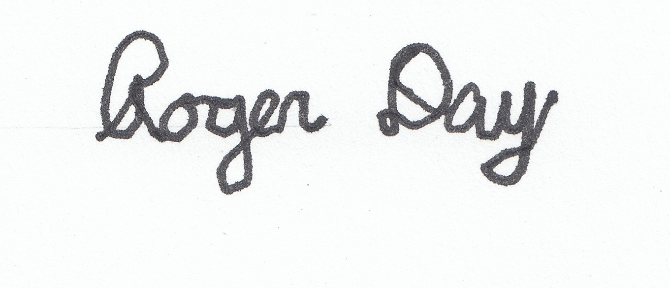 Roger Day Signature