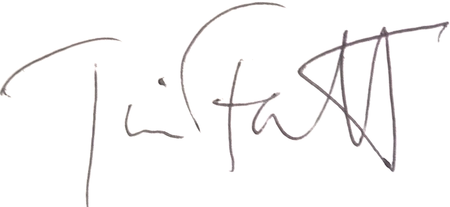 Tim Fawcett Signature