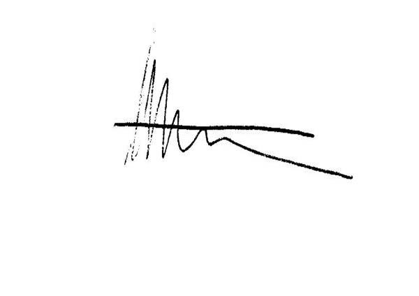 Helena Ritchie Signature