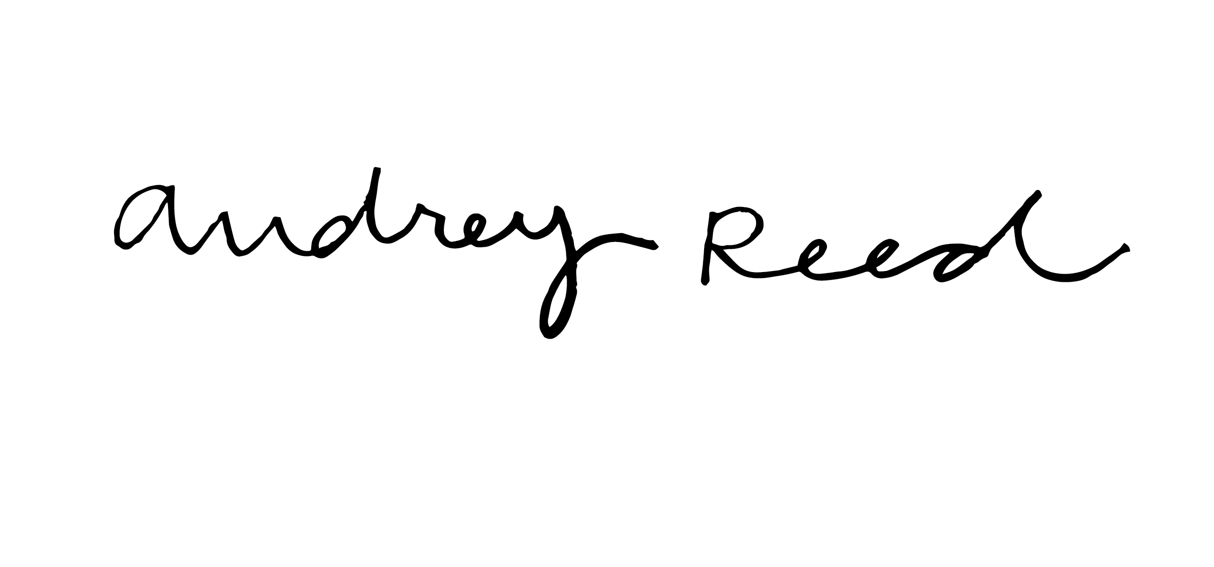 Audrey Reed Signature