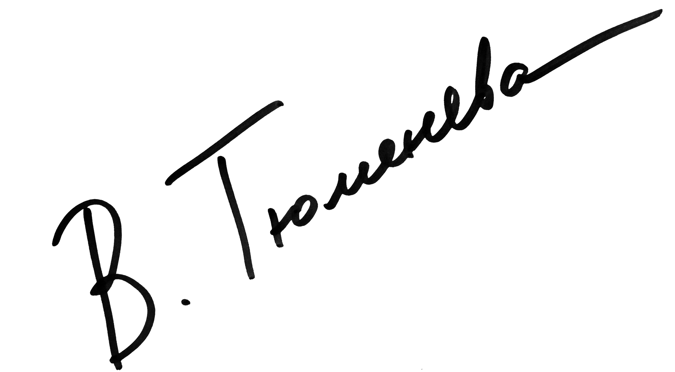 Valeria Tyumeneva Signature