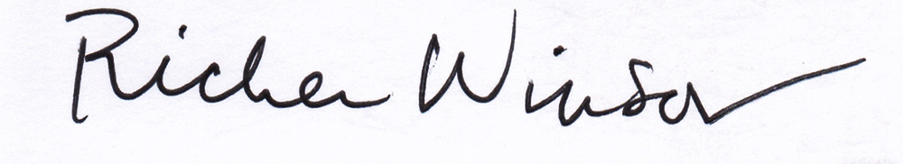 RICKER WINSOR Signature