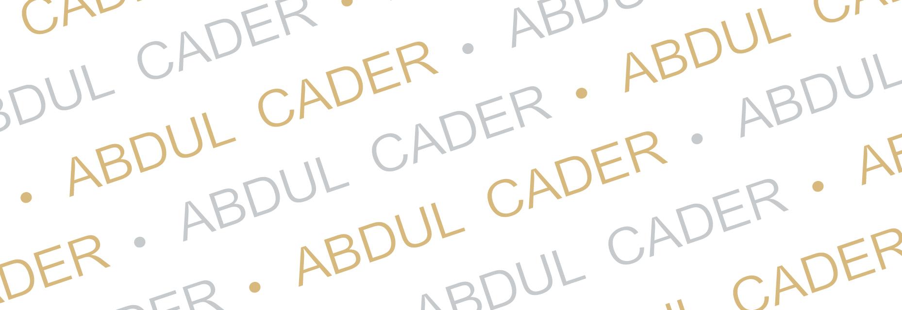Abdul Cader Signature