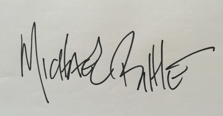 Michael Bittle Signature