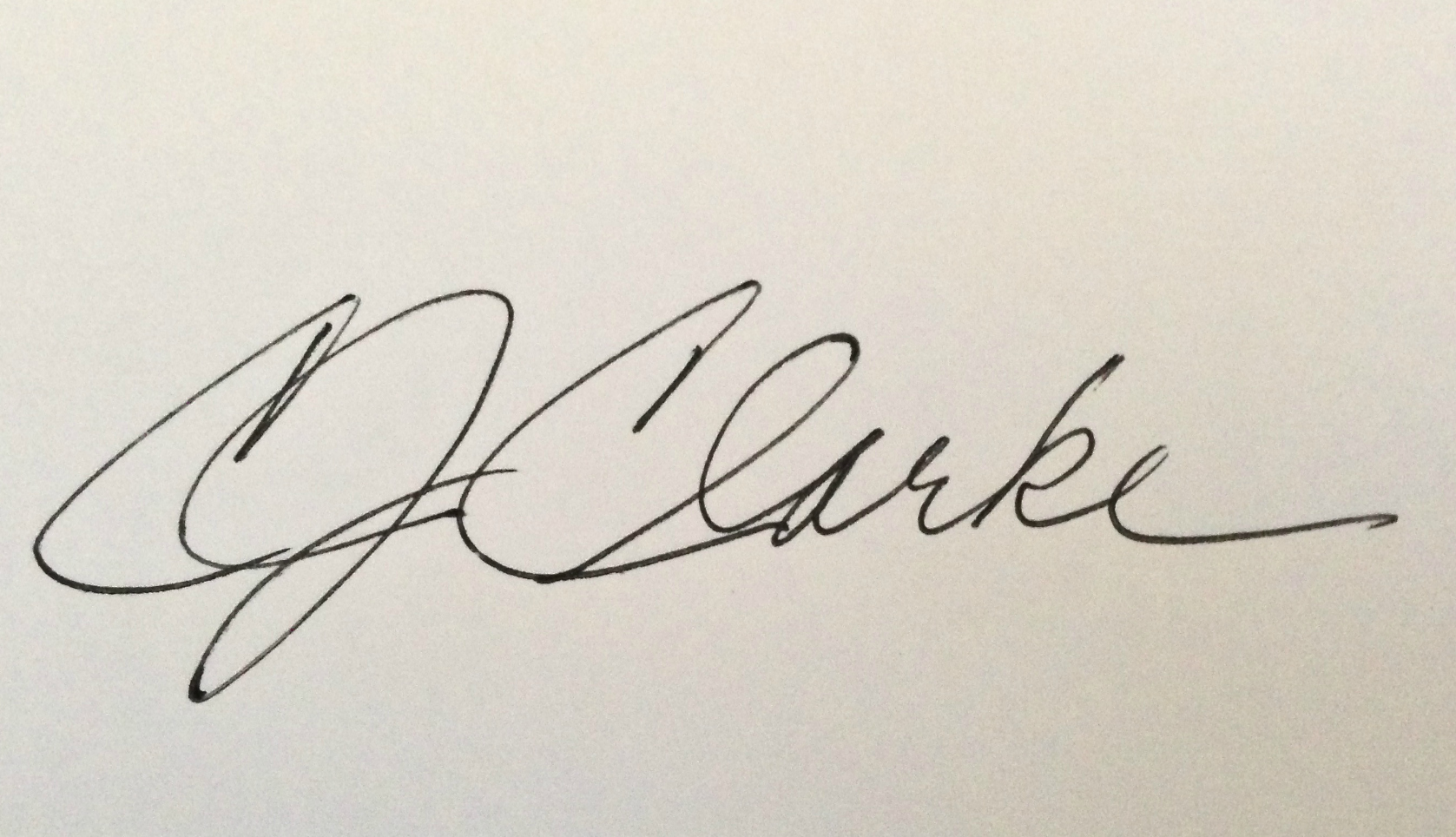 Cynde Clarke Signature