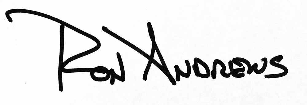 Ron Andrews Signature
