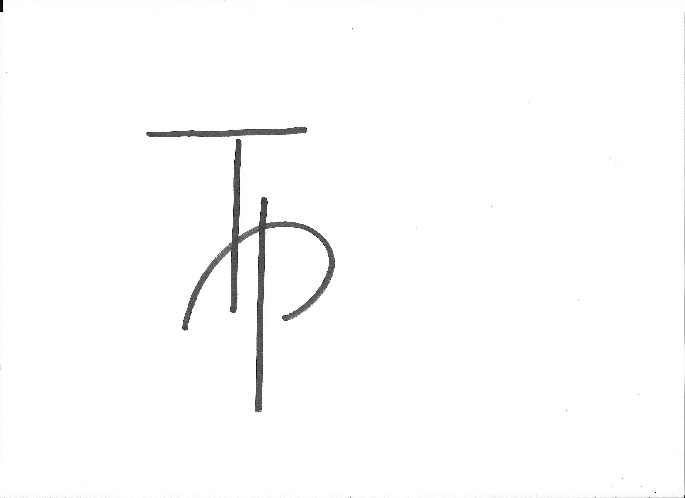 Tessa Peskett Signature